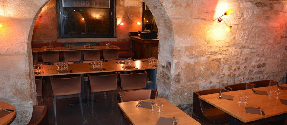 Restaurant Le Quai - vue intérieure