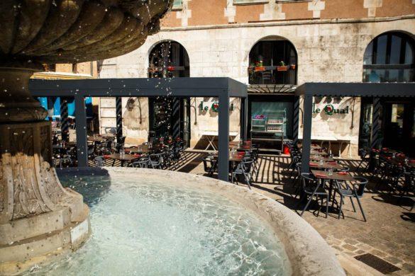 La terrasse du Quai à Auxerre